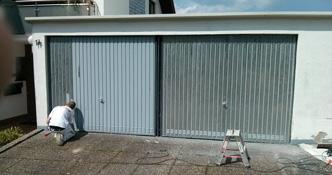 Garagentor Verschönern korrosionsschutz | harig farben & gestaltung gmbh